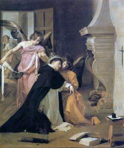 The Temptation of St. Thomas Aquinas Velázquez